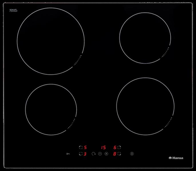 Варочная поверхность Hansa BHI68300, черный