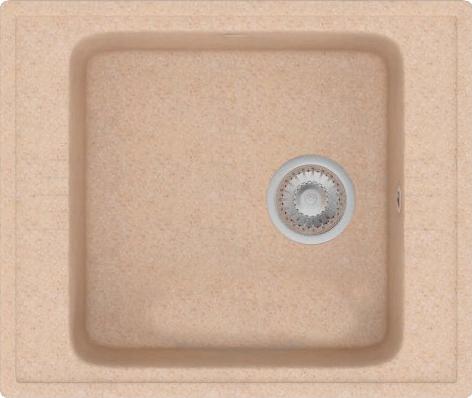 Каменная мойка POLYGRAN F-20 №328, опал