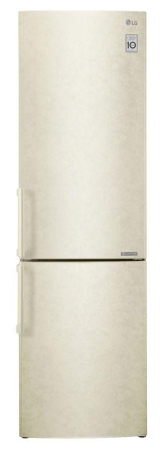 Холодильник LG GA-B499YECZ, бежевый