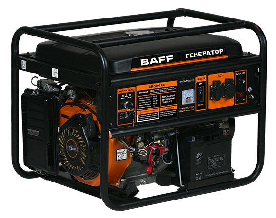 Генератор BAFF GB 5500 EC