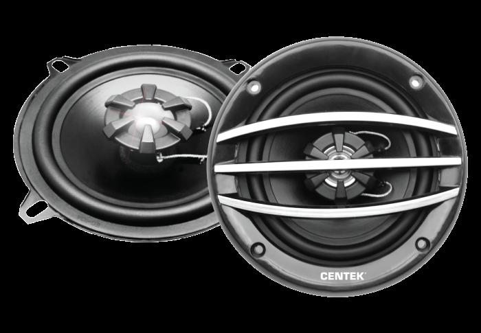 Колонки автомобильные CENTEK СТ-8201-525, серый
