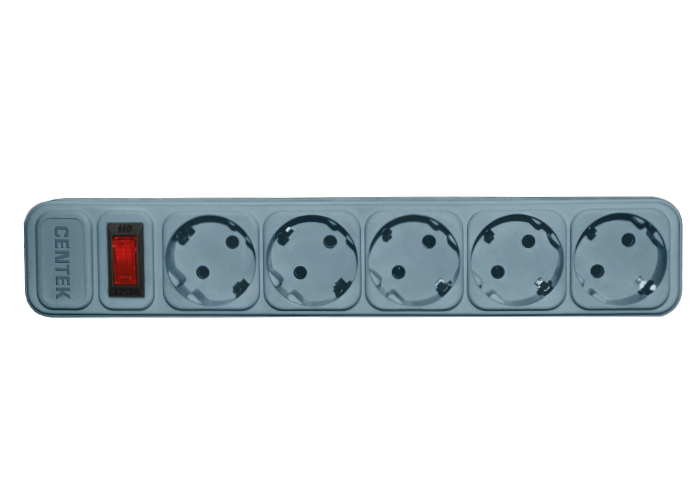Сетевой фильтр CENTEK СТ-8900-5-3,0, серый