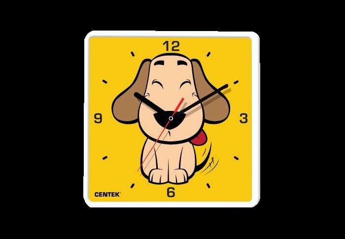 Часы настенные CENTEK СТ-7103, щенок