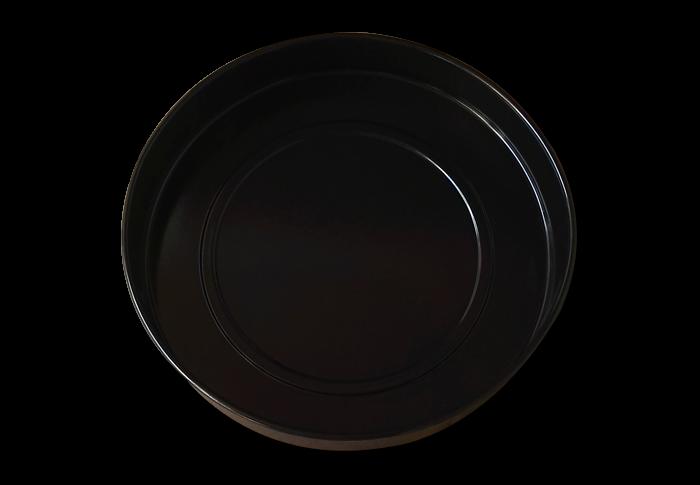 Противень круглый CENTEK CT-1590-9, черная эмаль