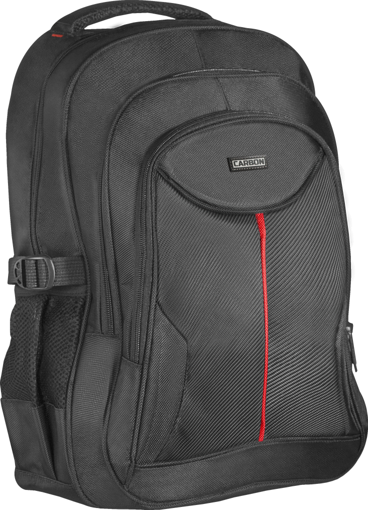 """Рюкзак для ноутбука DEFENDER Carbon 15.6"""" черный, органайзер"""